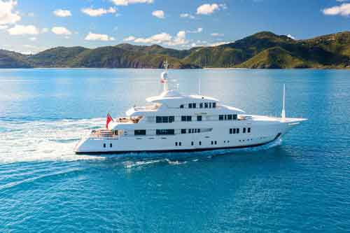 PARTY GIRL 205' Private Yacht For Charter in Bahamas