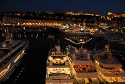 Visit Monaco Harbour on your Mediterranean Yacht Charter Vacation