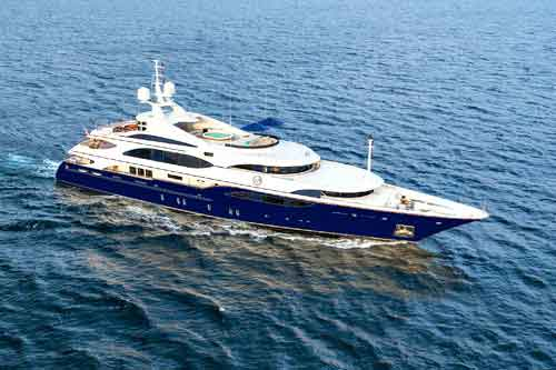 LADY MICHELLE Charter Yacht