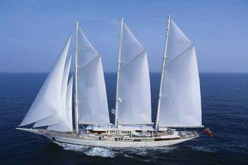 ATHENA Super Sailing Yacht for Charter