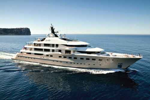 HERE COMES THE SUN - Mega Yacht For Charter