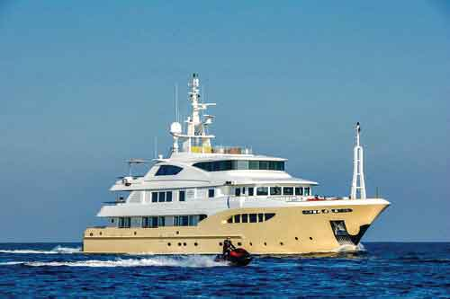 Jade-959 Super Yacht For Charter