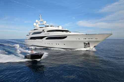SILVER ANGEL Luxury Yacht for Charter