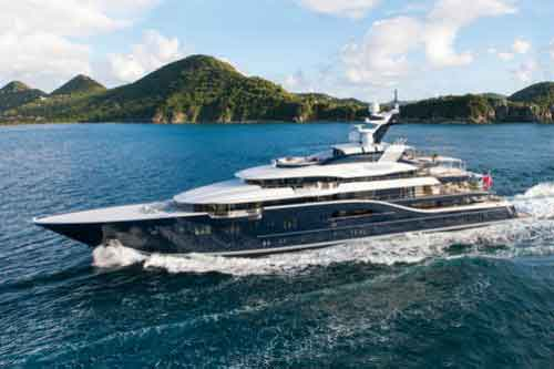 SOLANDGE Yacht for private Mediterranean charters