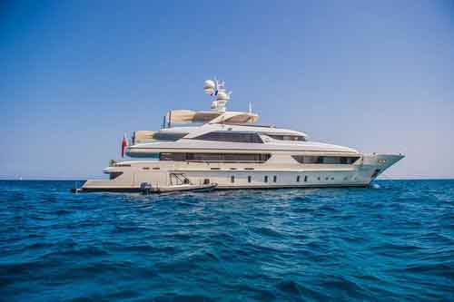 Scorpion 150' Motor Yacht For Hire
