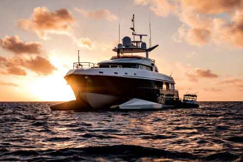 Spirit 114' private yacht for charter