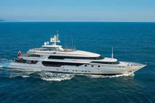 THE WELLESLEY private yacht for charter vacations