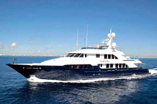 Wildflour luxury yacht charters